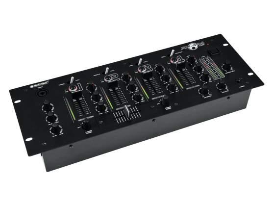 Omnitronic PM-444USB 4-Kanal-DJ-Mixer