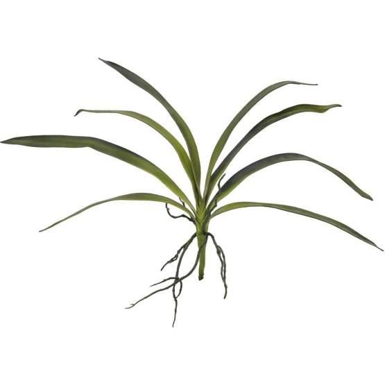 Europalms Orchideenblatt (EVA), grün, 45cm, Kunstoff