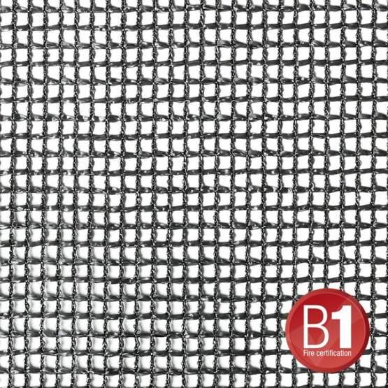 Adam Hall 0156 X 36 B - Gaze Typ 201 3x6m geöst schwarz