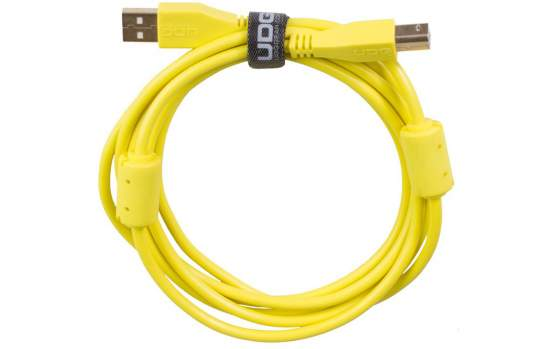 UDG Ultimate Audio Cable USB 2.0 A-B Yellow Straight 1m  (U95001YL)