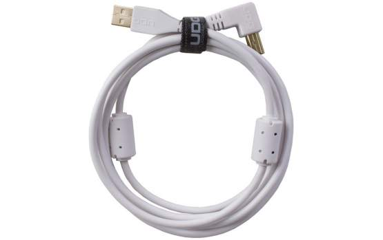 UDG Ultimate Audio Cable USB 2.0 A-B White Angled 2m  (U95005WH)