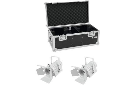 Eurolite Set 2x LED THA-40PC ws + Case