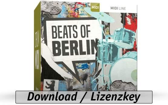ToonTrack Beats of Berlin MIDI-Pack (Download)