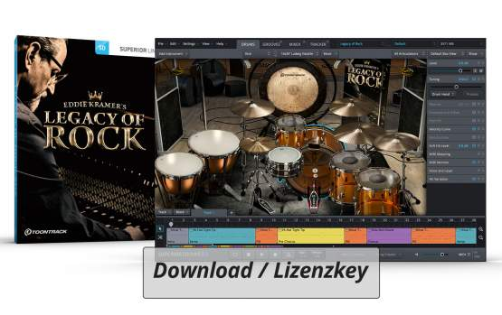 ToonTrack Legacy of Rock SDX (Licence Key)