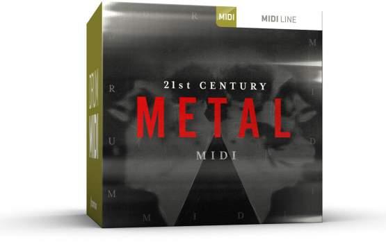 ToonTrack 21st Century Metal MIDI-Pack (Licence Key)