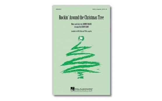 Rockin' around the Christmas Tree, Johnny Marks, SSAA, Chorpartitur, Sprache: English (UK)