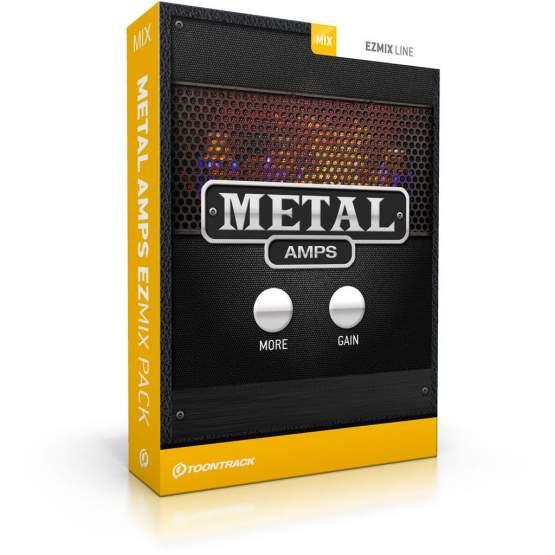 ToonTrack Metal Amps EZmix Pack (Licence Key)