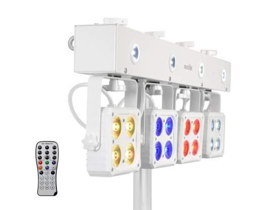 Eurolite LED KLS-180 Kompakt-Lichtset ws