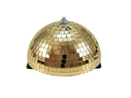 Eurolite Spiegel-Halbkugel 20cm gold motorisiert