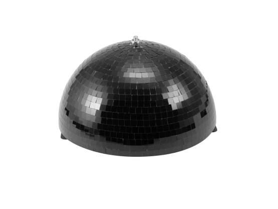 Eurolite Spiegel-Halbkugel 30cm schwarz motorisiert