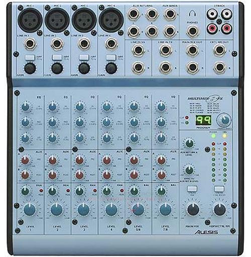 Alesis MultiMix 8FX Demo-Ware