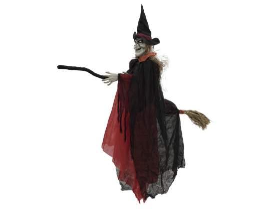 Europalms Halloween Hexe im Abflug, 170cm