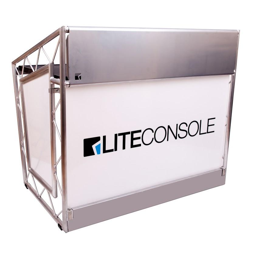 LiteConsole XPRS Lite, mobiler DJ Tisch