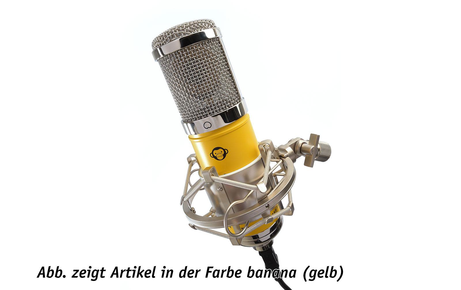 Monkey Banana Monkey Pop Popschutz für Mikrofon