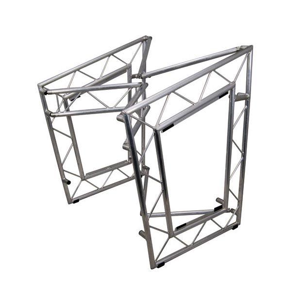LiteConsole XPRS Aluminium, mobiler DJ Tisch